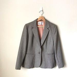 Vintage Levi's Blazer Jacket Striped 14